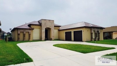 Brownsville Single Family Home For Sale: 3005 Vanessa Drive #VANESSA