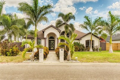 Pharr Single Family Home For Sale: 2205 S Hibiscus