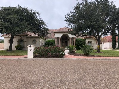 Edinburg Single Family Home For Sale: 2209 La Condesa Drive
