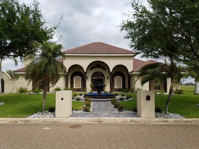Weslaco Single Family Home For Sale: 3509 La Hacienda