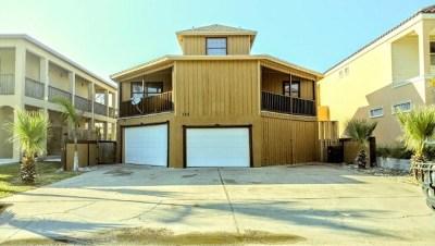 South Padre Island Single Family Home For Sale: 122 E Capricorn Street