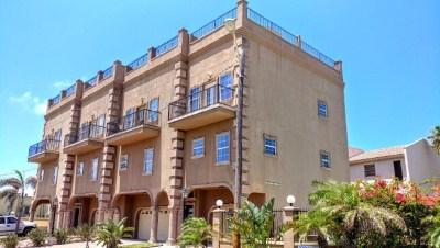 South Padre Island Condo/Townhouse For Sale: 110 E Coronado #102