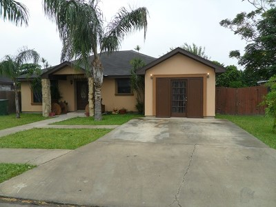Pharr Single Family Home For Sale: 8600 S Morelos Street