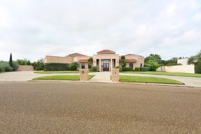 Mission Single Family Home For Sale: 1605 Palazzo Drive