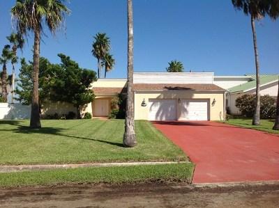 Cameron County Single Family Home For Sale: 1402 Beach Boulevard