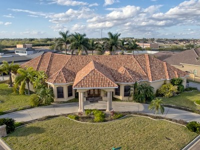 Edinburg Single Family Home For Sale: 2205 Fuente De Gozo