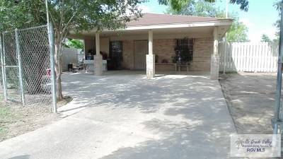 Brownsville Single Family Home For Sale: 1875 La Posada Street