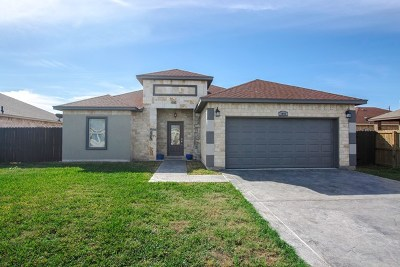 Mercedes Single Family Home For Sale: 1041 Arroyo Circle