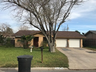 McAllen TX Single Family Home For Sale: $85,000
