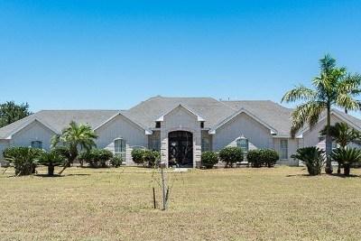 Harlingen Single Family Home For Sale: 14455 Johnston Lane