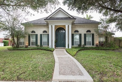 McAllen Single Family Home For Sale: 204 Water Lilly Avenue