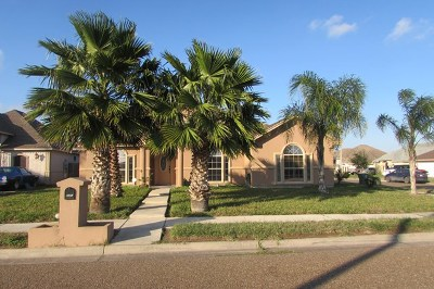 Brownsville Single Family Home For Sale: 6197 Tenaza Drive