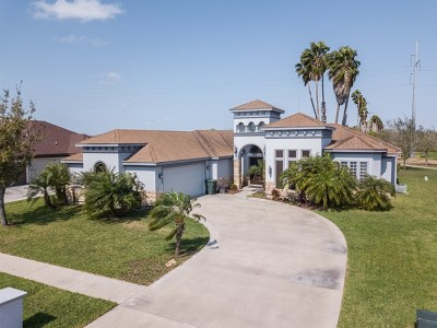 Harlingen Single Family Home For Sale: 4609 Magnolia Point
