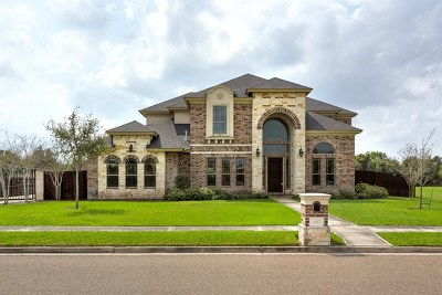 Harlingen Single Family Home For Sale: 4317 Waters Edge