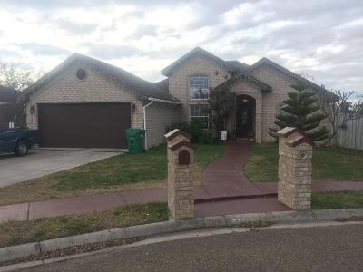 Pharr Single Family Home For Sale: 3605 Whiskey Drive