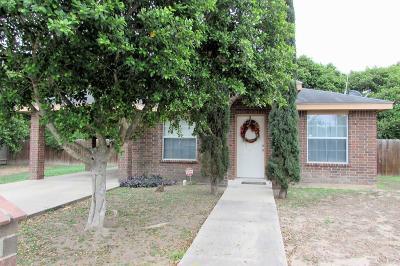 Pharr Single Family Home For Sale: 807 S Diplomat Drive