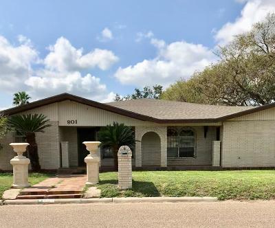 Weslaco Single Family Home For Sale: 801 Cedro
