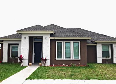 Pharr Single Family Home For Sale: 11 Sabatini Avenue