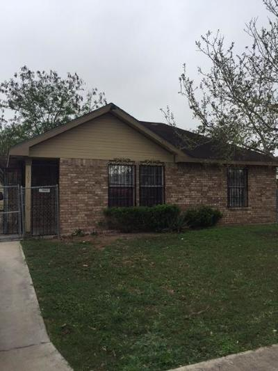Pharr Single Family Home For Sale: 707 Cardinal Avenue