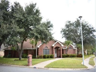McAllen TX Single Family Home For Sale: $239,500