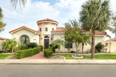 McAllen TX Single Family Home For Sale: $295,000