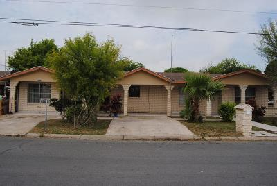 McAllen Single Family Home For Sale: 2413 Pecan Avenue