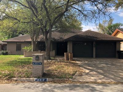 McAllen TX Single Family Home For Sale: $134,900