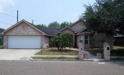 Weslaco Single Family Home For Sale: 409 Crosswinds Circle