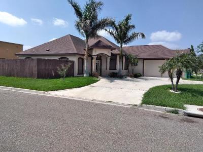 Pharr Single Family Home For Sale: 601 White Bugambilia