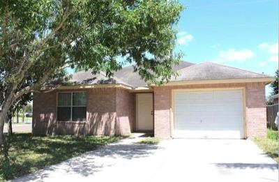 McAllen TX Single Family Home For Sale: $118,000
