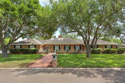 Edinburg Single Family Home For Sale: 2618 Lakeshore Drive
