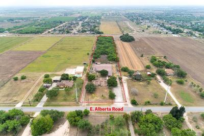 Edinburg Single Family Home For Sale: 7654 E Alberta Road