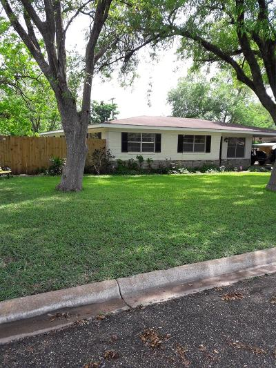 Weslaco Single Family Home For Sale: 1007 W 8th Street