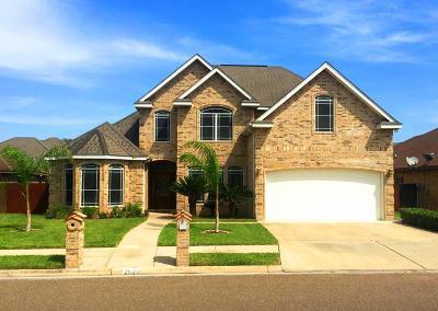 Edinburg Single Family Home For Sale: 2620 Hylton Avenue