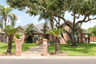 Mission Single Family Home For Sale: 2301 Monaco Drive