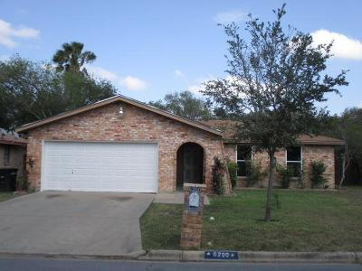 McAllen TX Single Family Home For Sale: $130,000