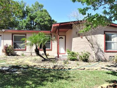 McAllen TX Single Family Home For Sale: $105,000