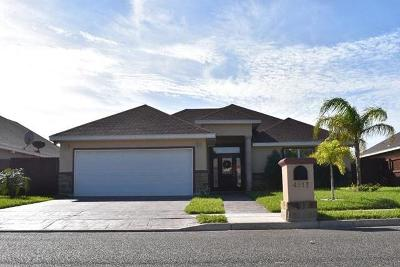 McAllen TX Single Family Home For Sale: $179,800
