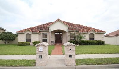 Edinburg Single Family Home For Sale: 3612 Ebro Drive