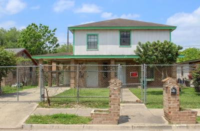 McAllen TX Single Family Home For Sale: $69,000