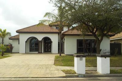 McAllen TX Single Family Home For Sale: $229,900
