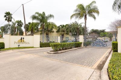 McAllen Condo/Townhouse For Sale: 800 Sunset Drive #B17