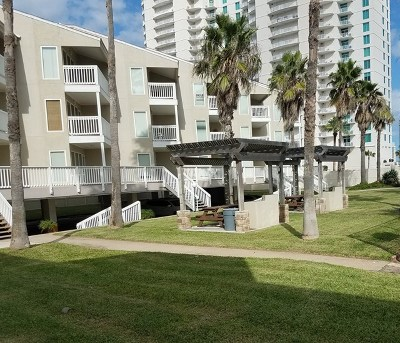 Cameron County Condo/Townhouse For Sale: 200 Padre Boulevard #215 Buil