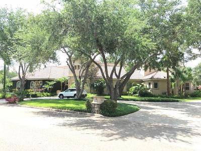 McAllen Single Family Home For Sale: 800 E Sundown Drive