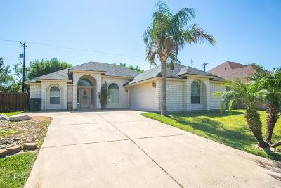 Harlingen Single Family Home For Sale: 2509 W Mark Circle