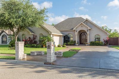 McAllen TX Single Family Home For Sale: $215,000