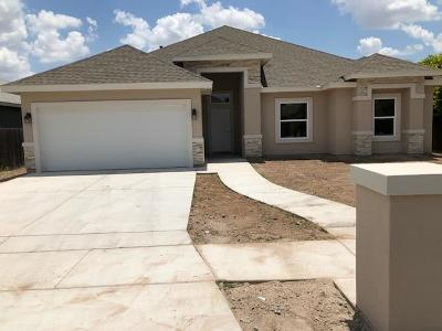 Edinburg Single Family Home For Sale: 3406 Lerma Drive