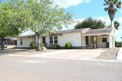 Pharr Single Family Home For Sale: 420 Rhett Drive