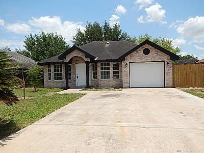 Edinburg Single Family Home For Sale: 2810 Milestone