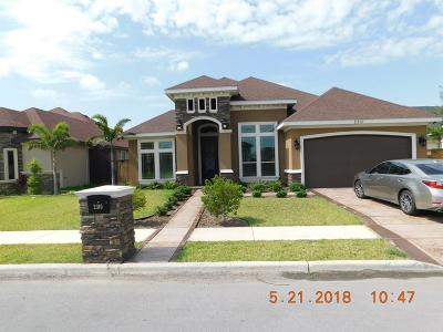 Edinburg Single Family Home For Sale: 2310 Supreme Drive